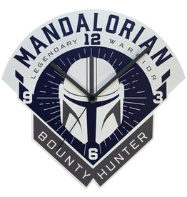 Accutime Star Wars The Mandalorian Bounty Hunter Wall Clock