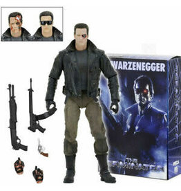 "NECA Terminator Ultimate 7"" Action Figure: Police Station Assault T-800"