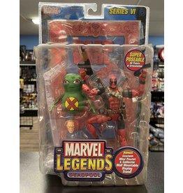 Toybiz ToyBiz Marvel Legends Deadpool with Doop Canada Red Foil Variant