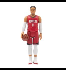Super7 NBA Superstars Figure - Russell Westbrook (Rockets)