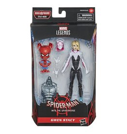 Hasbro Spider-Man: Into the Spider-Verse Marvel Legends Gwen Stacy (Stilt-Man BAF)