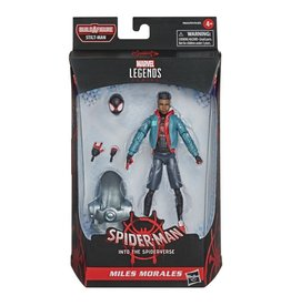 Hasbro Spider-Man: Into the Spider-Verse Marvel Legends Miles Morales (Stilt-Man BAF)