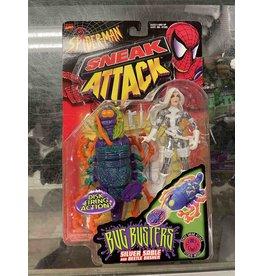 Toybiz Spiderman Sneak Attack: Silver Sable Figure