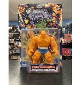 Toybiz Fantastic Four Toybiz The Thing Clobberin' Time Punch Action Figure