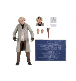 NECA Back To The Future – 7″ Scale Action Figure – Ultimate Doc Brown