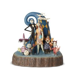 "Enesco Disney Traditions Nightmare Before Christmas ""Carved by Heart"" Statue by Jim Shore"