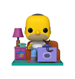 Funko Pop! Deluxe: The Simpsons - Homer Watching TV