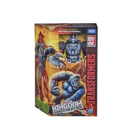 Hasbro Transformers Generations War for Cybertron: Kingdom Voyager Class WFC-K8 Optimus Primal