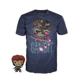 Funko Marvel Zombies Gambit T-Shirt and Pop! Mini-Figure