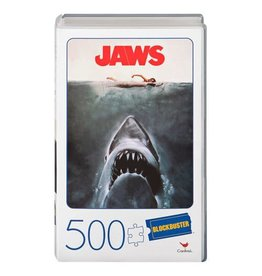 SpinMaster Jaws Retro Blockbuster VHS Video Case 500-Piece Puzzle