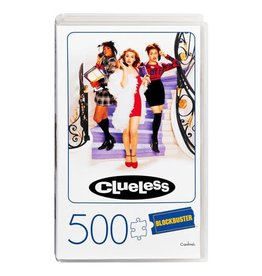 SpinMaster Clueless Retro Blockbuster VHS Video Case 500-Piece Puzzle