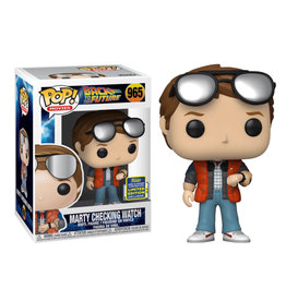 Funko Pop! Movies: Back to the Future - Marty Checking Watch Exclusive