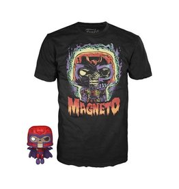 Funko Marvel Zombies Magneto T-Shirt and Pop! Mini-Figure