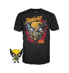 Funko Marvel Zombies Wolverine T-Shirt and Pop! Mini-Figure