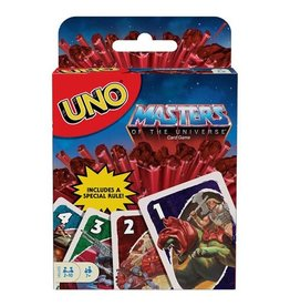Mattle Masters of the Universe Origins UNO Game