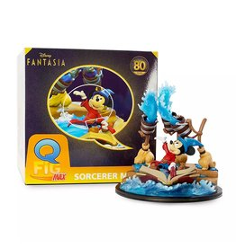 Quantum Mechanix Sorcerer Mickey Q-Fig Max – Fantasia 80th Anniversary