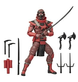 Hasbro G.I. Joe Red Ninja Classified Series Action Figure
