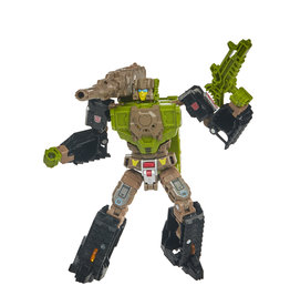 Hasbro Transformers Generations Toys Deluxe Retro Headmaster Hardhead Collectible Action Figure