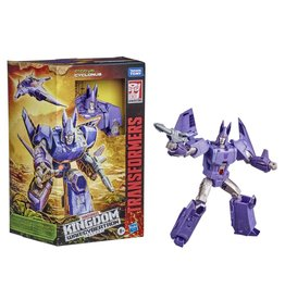 Hasbro Transformers War for Cybertron: Kingdom Voyager Cyclonus