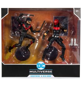 McFarlane Toys DC Multiverse Nightwing vs Red Hood Two-Pack