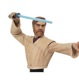 Diamond Select Toys Star Wars Obi-Wan (Clone Wars) 1/7 Scale Bust