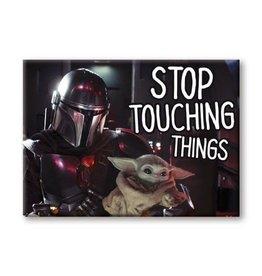 Disney Mandalorian Child Stop Touching Things Magnet
