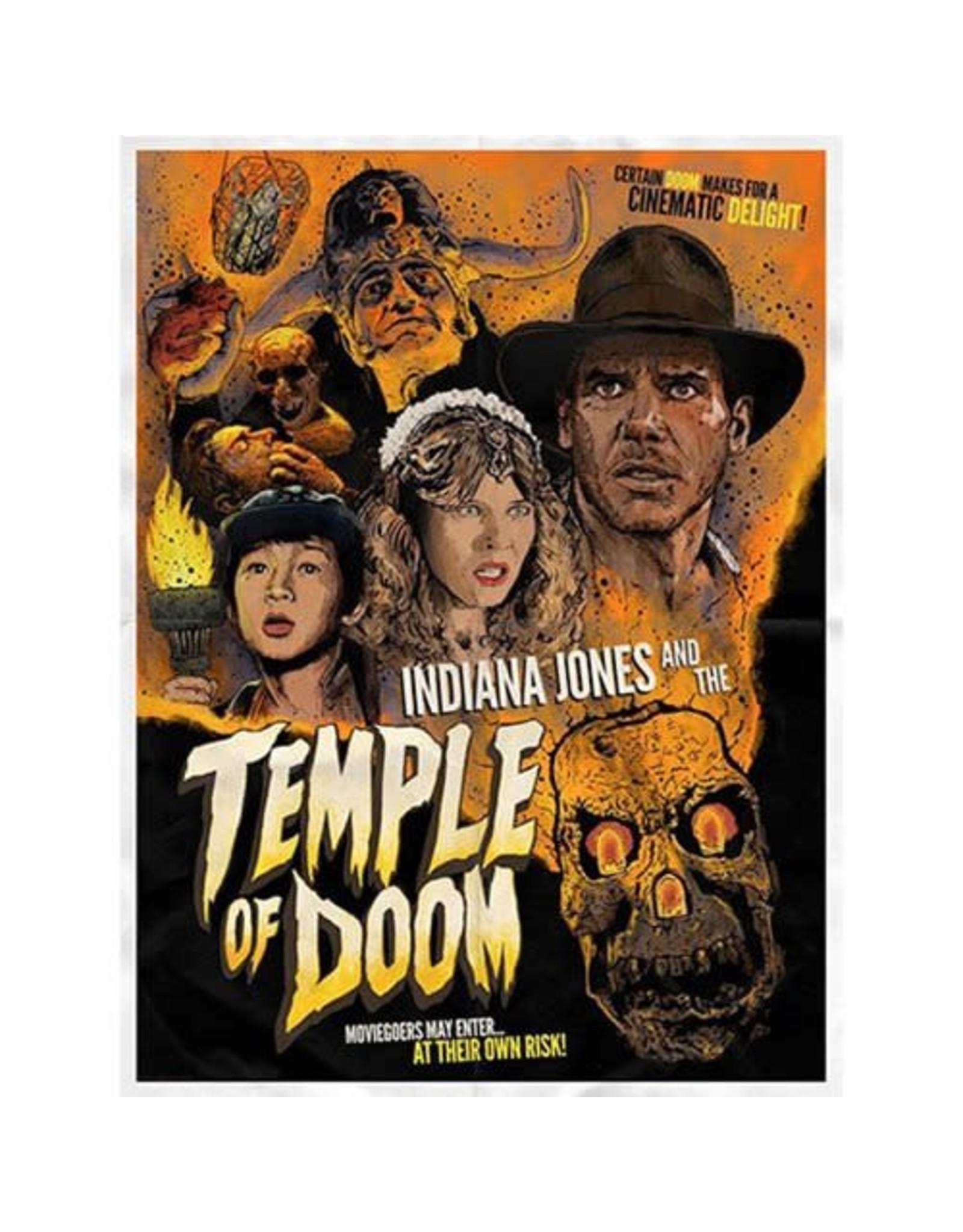 ACME Archives Indiana Jones Certain Doom by J.J. Lendl Lithograph Art Print