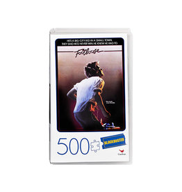 SpinMaster Footloose Retro Blockbuster VHS Video Case 500-Piece Puzzle