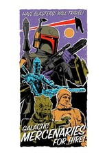 ACME Archives Star Wars: The Empire Strikes Back Have Blasters, Will Travel by J.J. Lendl Lithograph Art Print