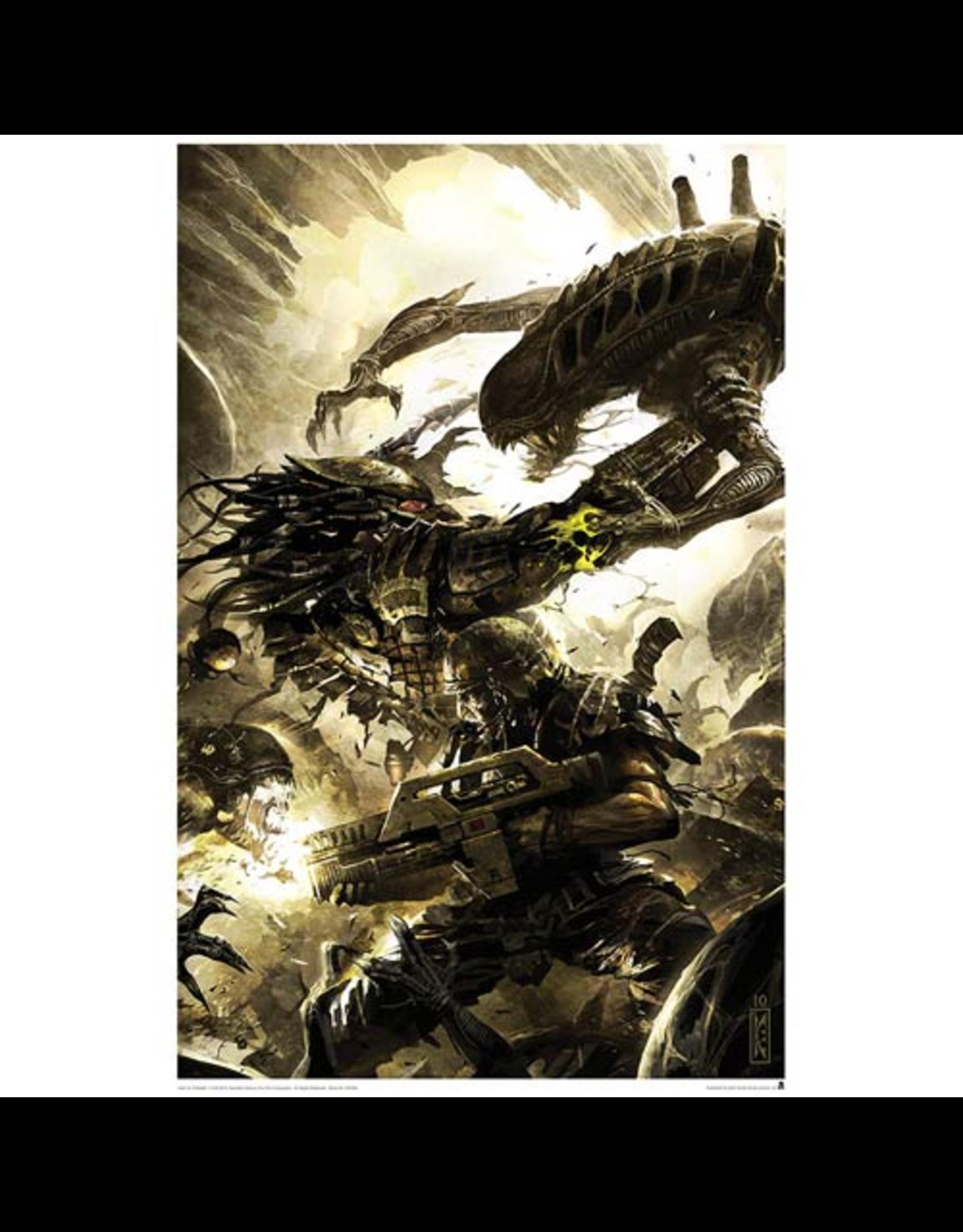 ACME Archives Alien vs. Predator Three World War #4 Lithograph Print
