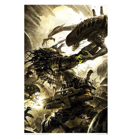 ACME Archives Alien vs. Predator Three World War #4 Lithograph Print