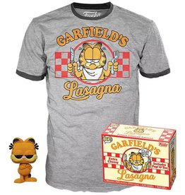 Funko Funko POP! Comics Garfield Vinyl Figure & T-Shirt