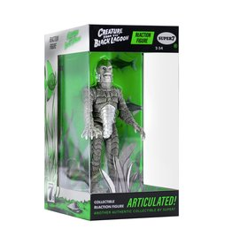 Super7 Universal Monsters ReAction Figure - Creature From the Black Lagoon (Silver Screen)
