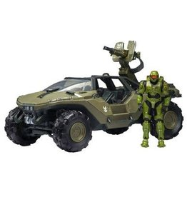 jazwares Halo Warthog with Master Chief