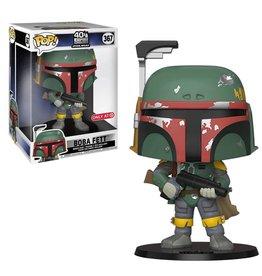 "Funko [DAMAGED BOX] Funko Pop! Star Wars: Empire Strikes Back - 10"" Boba Fett (Target Exclusive)"