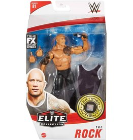 Mattle WWE The Rock Elite Collection Action Figure