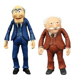 Diamond Select Toys The Muppets Select Best of Series Statler & Waldorf