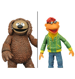 Diamond Select Toys The Muppets Select Best of Series Scooter & Rowlf Two-Pack