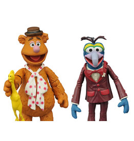 Diamond Select Toys The Muppets Select Best of Series Gonzo & Fozzie Two-Pack
