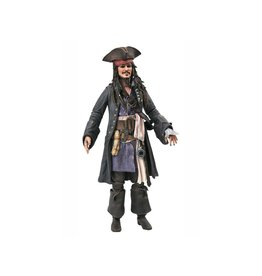 Diamond Select Toys Pirates of the Caribbean Jack Sparrow Deluxe Figure