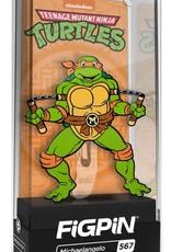 CMD Collectibles Teenage Mutant Ninja Turtles FiGPiN #567 Michaelangelo