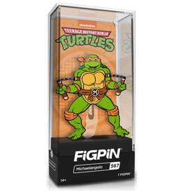 CMD Collectibles Teenage Mutant Ninja Turtles FiGPiN #567 Michaelangelo