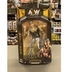 jazwares AEW Unrivaled Collection Nick Jackson