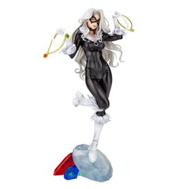 Kotobukiya Spider-Man Black Cat Steals Your Heart Bishoujo Statue