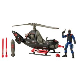 Hasbro G.I. Joe Retro Collection Cobra F.A.N.G. Toy Vehicle with 3.75-Inch-Scale Cobra Pilot Figure