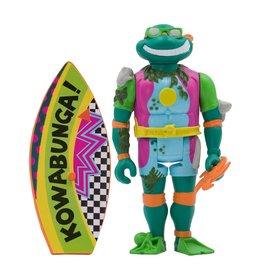 Super7 Teenage Mutant Ninja Turtles ReAction Figure Wave 3 - Sewer Surfer Michelangelo