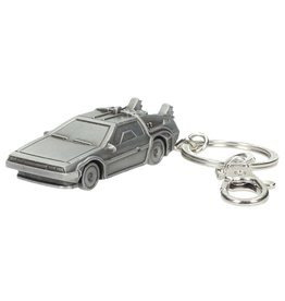 SD Toys Back to the Future Delorean 3D Metal Keychain