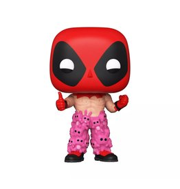 Funko Funko POP! Deadpool - Deadpool with Teddy Bear Pants (ECCC 2021 Shared Exclusive)