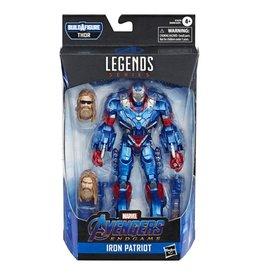 "Hasbro Avengers Endgame Marvel Legends 6"" Iron Patriot Action Figure (Thor BAF)"