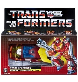 Hasbro Transformers Vintage G1 Autobot Hot Rod Collectible, Walmart Exclusive